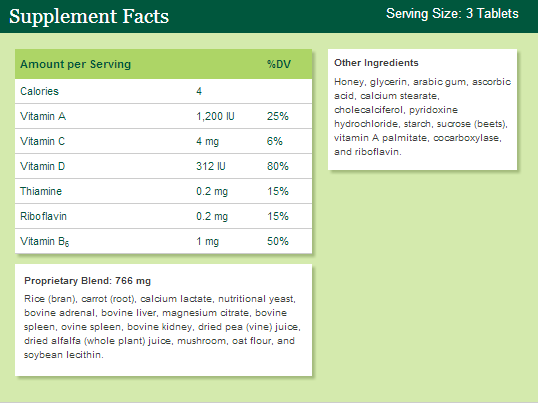 Nutritional Supplements: Not Created Equal -